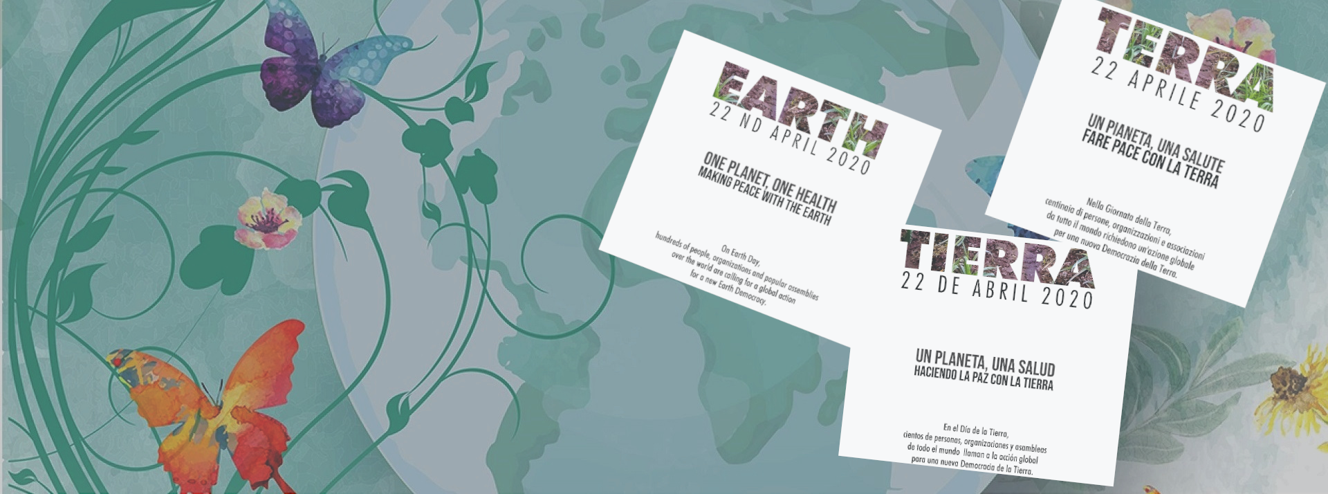 Comunicato per la Giornata della Terra