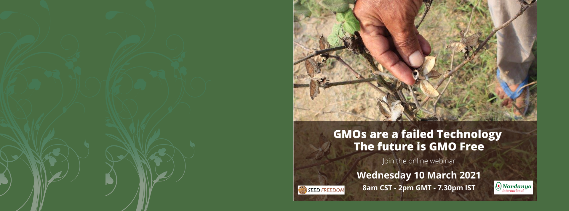 GMOs are a failed Technology. The future is GMO Free